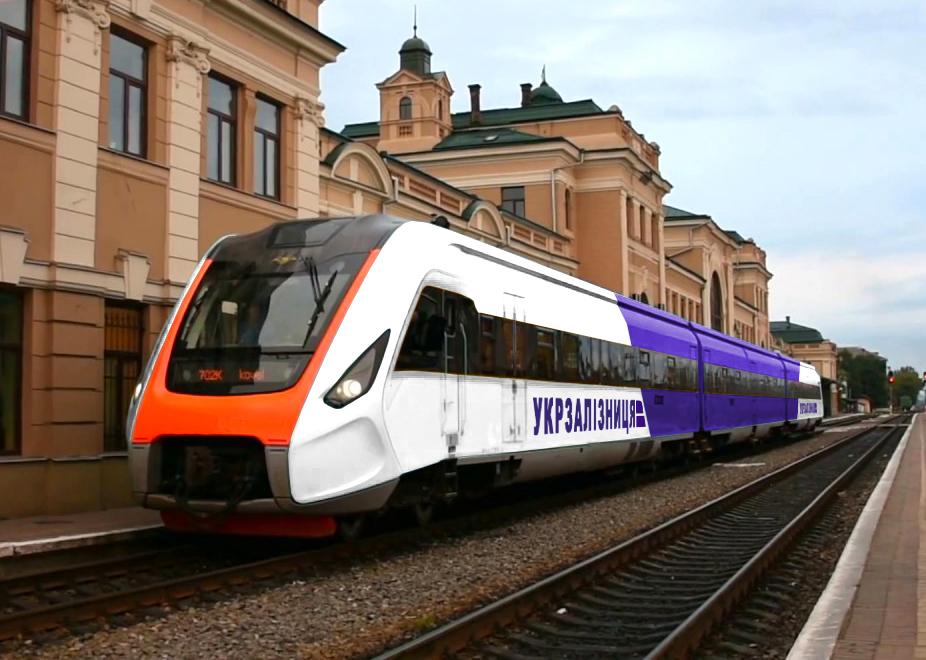 Пригородный поезд от Крюковского ВСЗ
