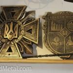 """Герб """"Криворожсталь"""" - литье, а не кованые изделия"""