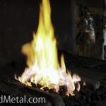 Огонь в горне ждет металл