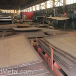 Склад полуфабрикатов в цехе металлоконструкций Steel Work Кривой Рог