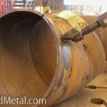 Листы из биметалла гнут, варят и собирают в готовые изделия Steel Work Кривой Рог