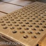 Благодаря плазменной резке можно делать и отверстия в биметалле Steel Work Кривой Рог
