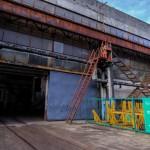 Вход в крытый склад металлопроката СМЦ ТД Славсант