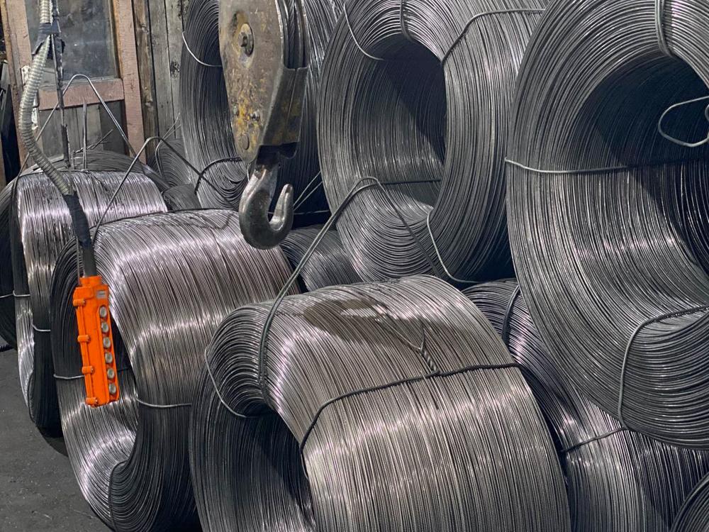 Катанка на заводе Дивэс (Кривой Рог)