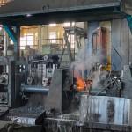 Производство сварных труб на заводе Славсант (Павлоград)