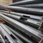 Столбы для освещения готовят к оцинковке - Компания Металл Инвест