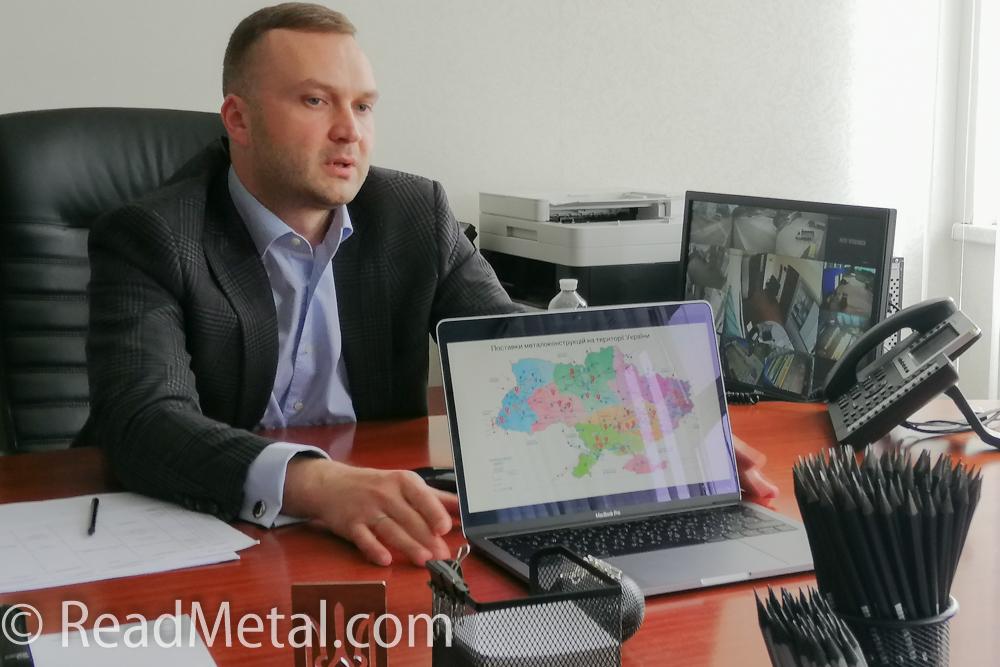 Александр Дунайский, директор ООО Компания Металл Инвест