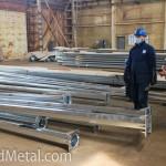 Проверка качества оцинковки столбов освещения - Компания Металл Инвест