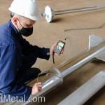 Толщину цинкового покрытия проверяют с помощью толщинометра - Компания Металл Инвест