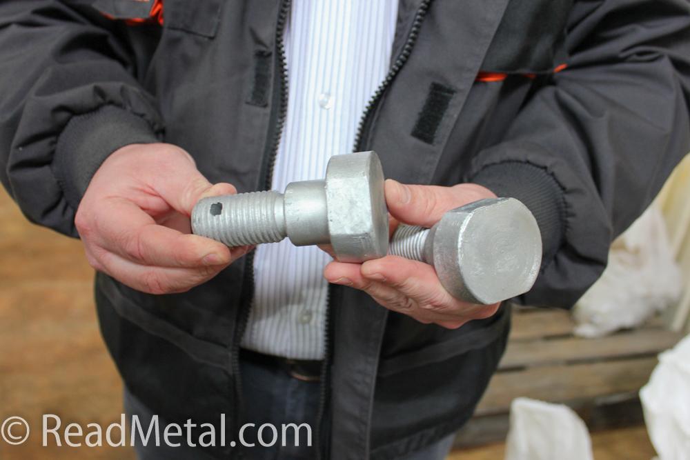 Оцинкованный крепеж для электроопор