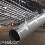 Оцинкованные изделия в процессе сушки набирают цвет - Компания Металл Инвест
